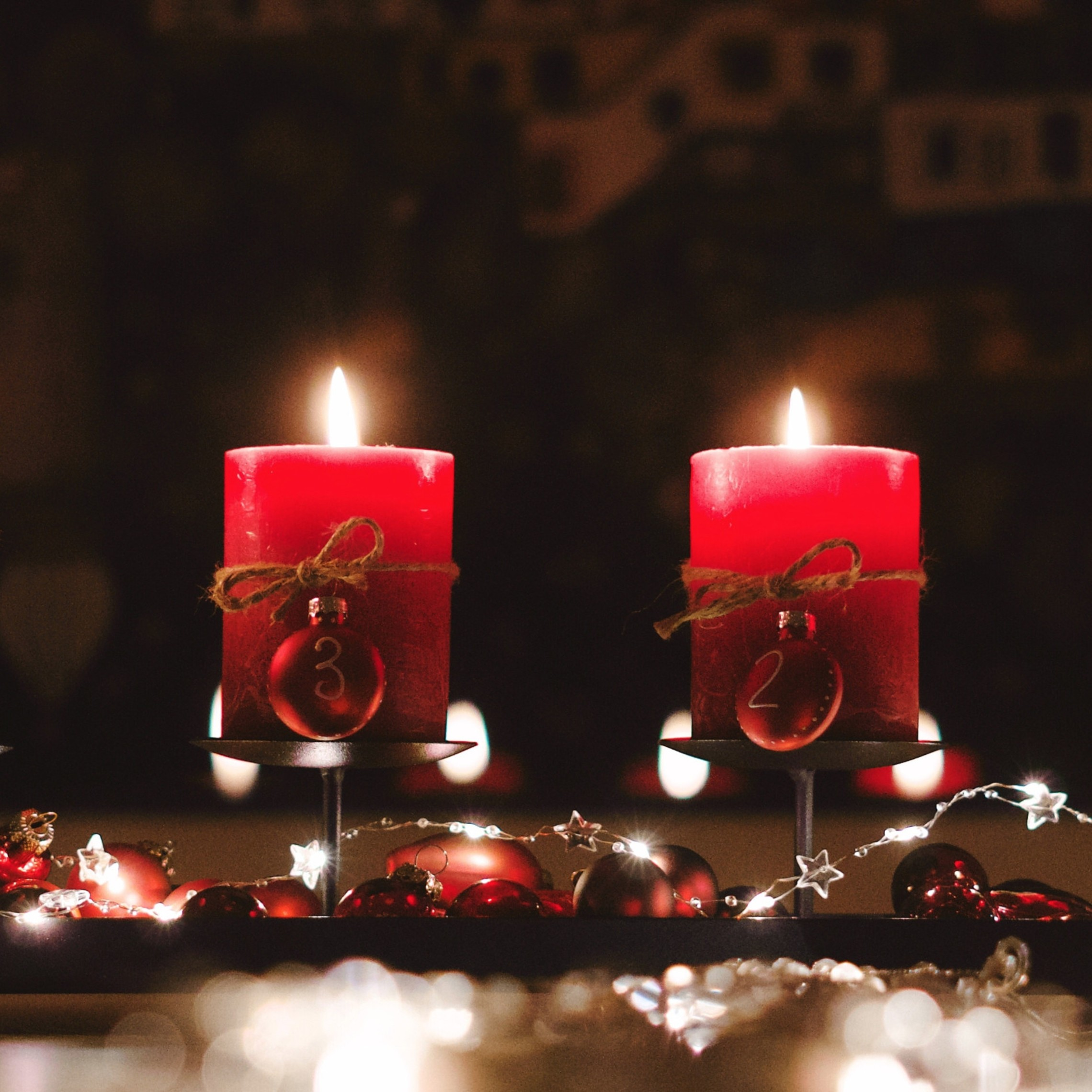 Advent Candles Image